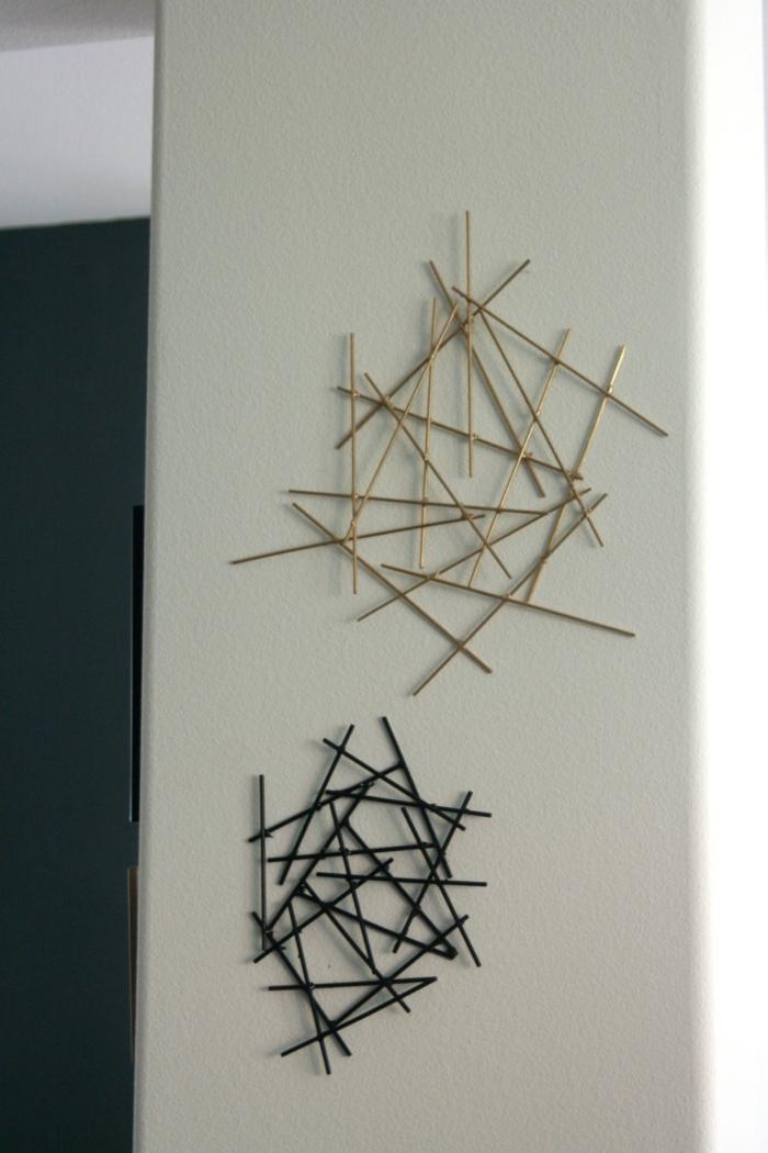 kreatives-basteln-interessante-wanddekoration