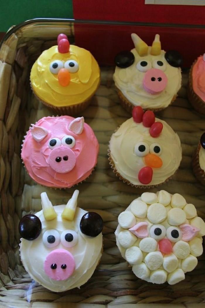 kuchen-für-kindergeburtstag-kleine-muffins-angry-birds-idee