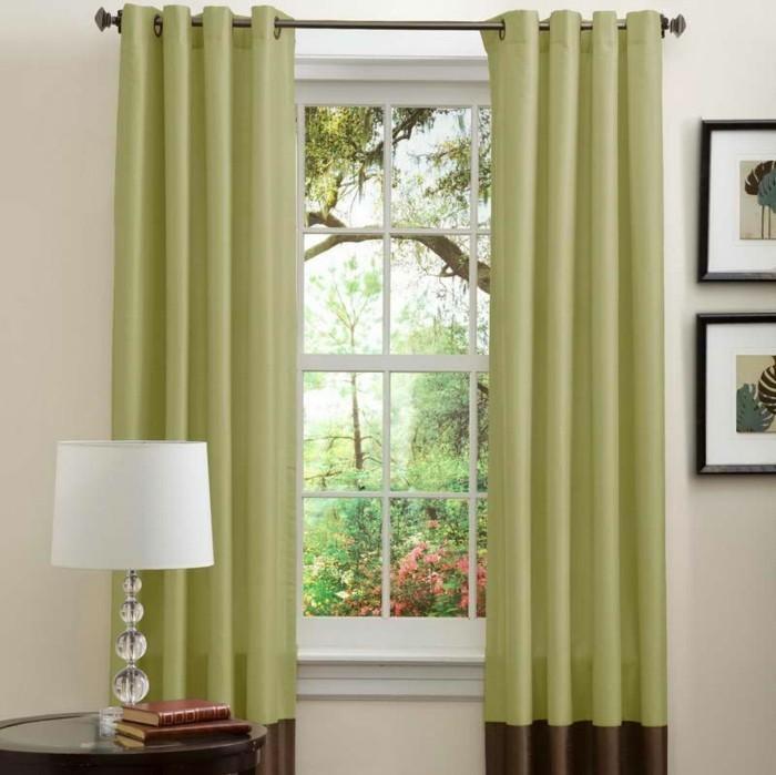 lange-grüne-gardinen-für-ein-sehr-großes-fenster-tolle-ideen-für-deko