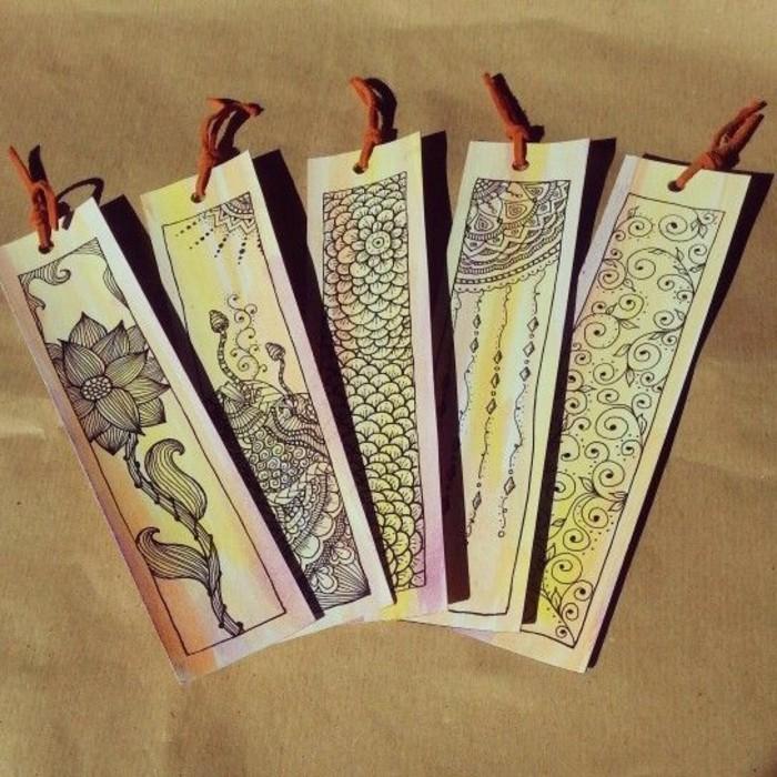 lesezeichen-basteln-attraktive-modelle-origami