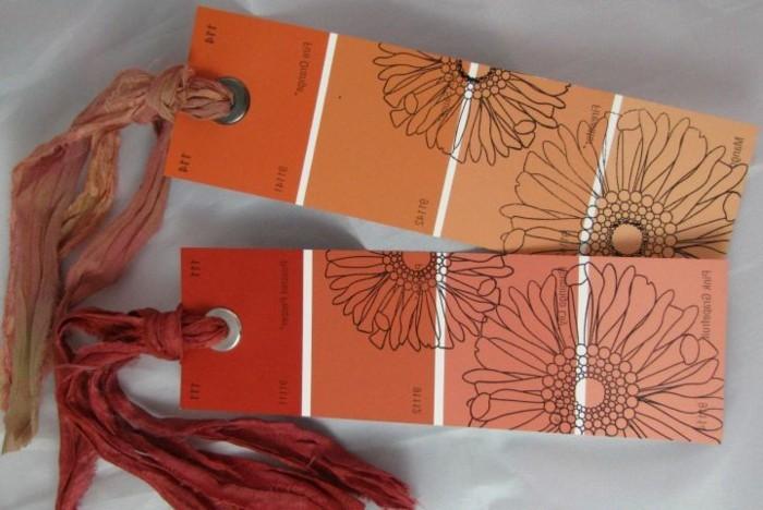 lesezeichen-basteln-orange-und-dunkel-rot-kombinieren