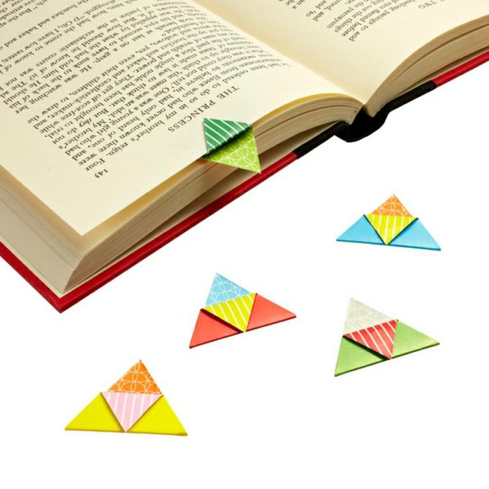 lesezeichen-selber-machen-origami-basteln-kleine-süße-details