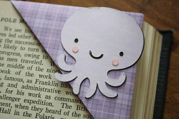 lesezeichen-selber-machen-origami-basteln-oktopode-idee