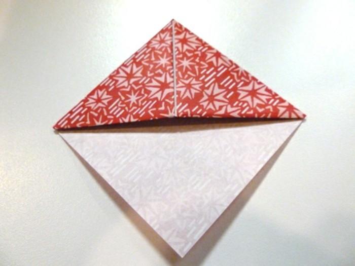 lesezeichen-selber-machen-origami-basteln-schöne-rosige-gestaltung