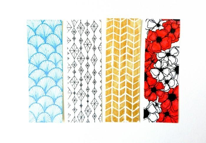 lesezeichen-selbst-gestalten-sehr-schöne-modelle-in-bunten-farben