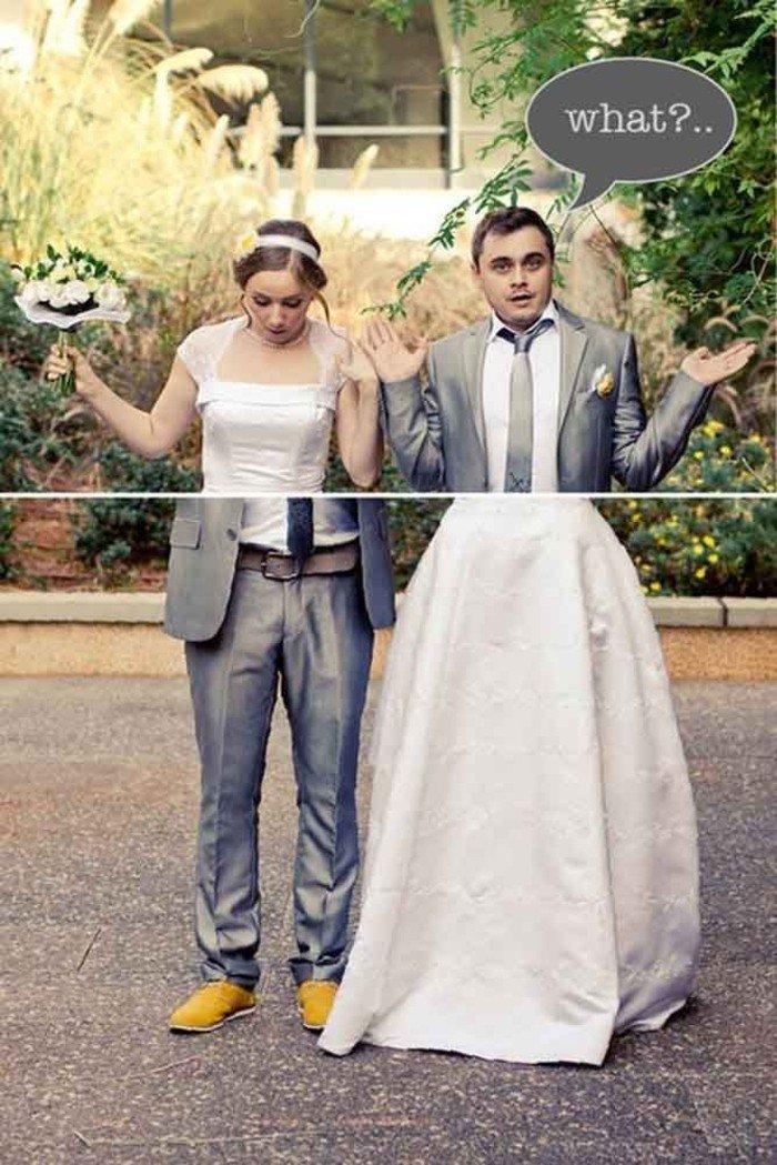 lustige-Hochzeitsbilder-Brautpaar-Körper-Scherz