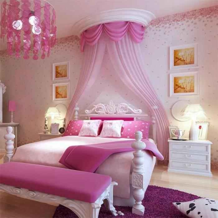125 einrichtungsideen f r ein sch nes m dchenzimmer. Black Bedroom Furniture Sets. Home Design Ideas