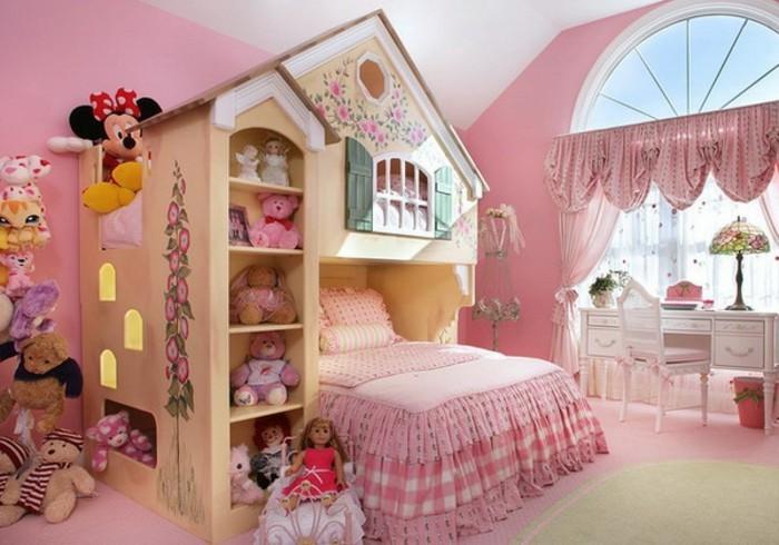 Girls design rooms