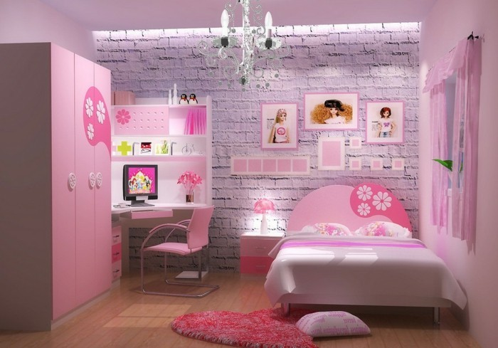 awesome sch ne m dchen zimmer pictures. Black Bedroom Furniture Sets. Home Design Ideas