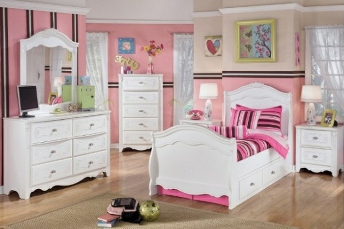 teenager zimmer ideen madchen. Black Bedroom Furniture Sets. Home Design Ideas