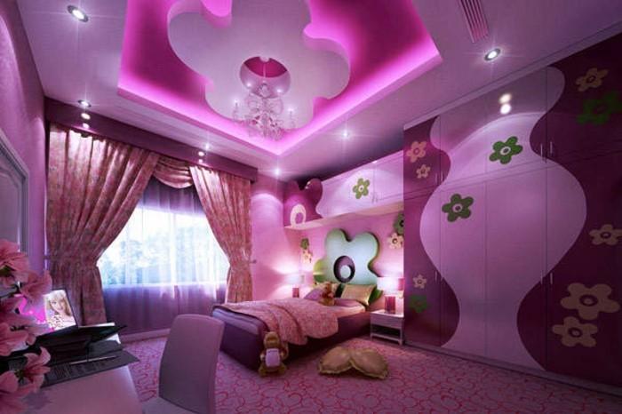 madchenzimmer-modern-gestalten-und-schön-in-pink-dekorieren