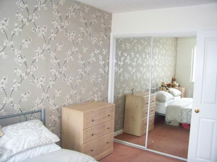 Wandgestaltung Mit Farbe Streifen Schlafzimmer ~ Kreative Deko-Ideen und Innenarchitektur