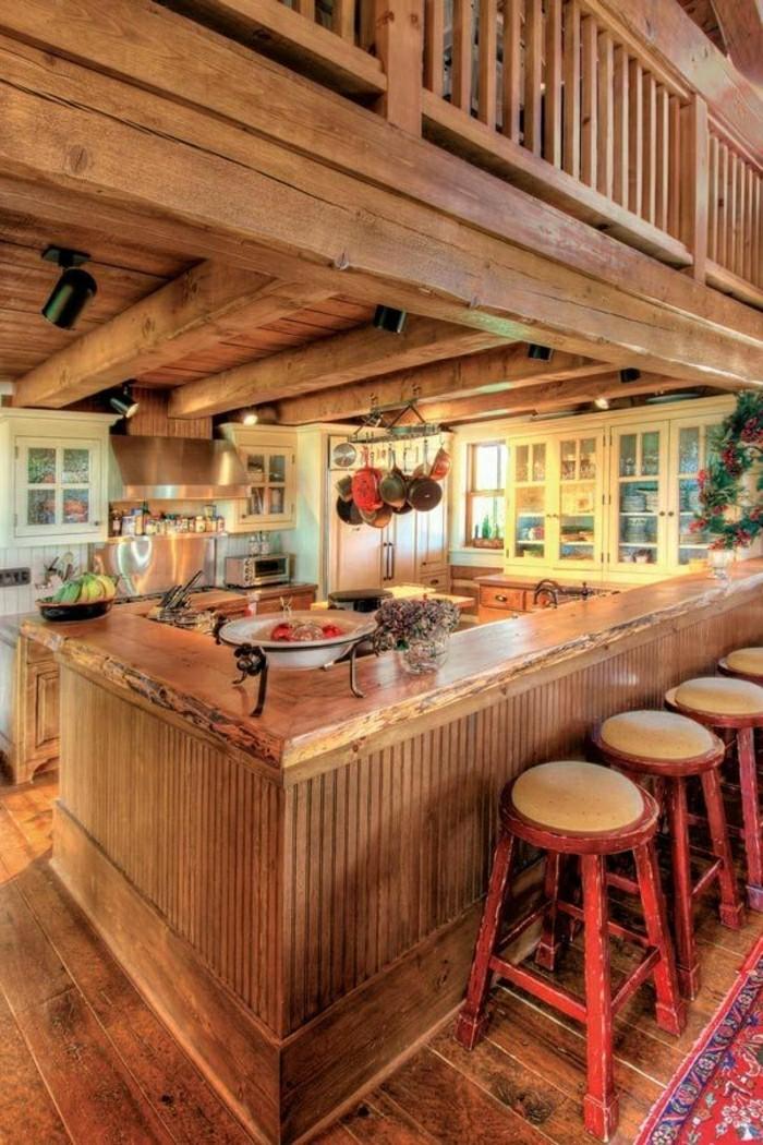 Massive m bel der rustikale look f r ihr zuhause for Cuisine en teck massif