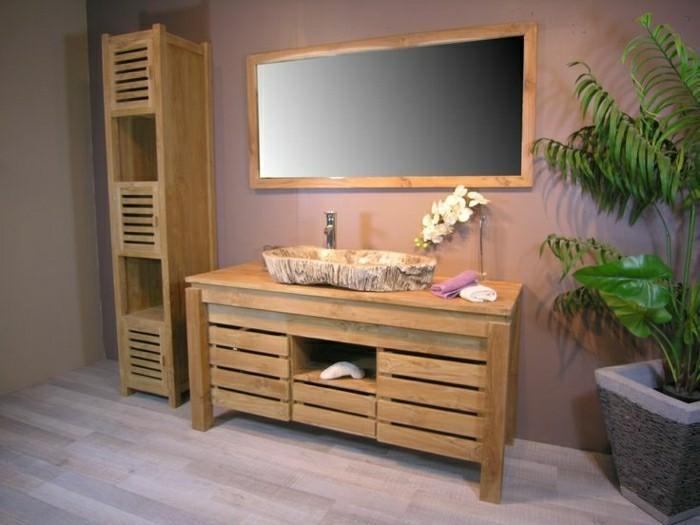 Möbel fürs bad  Massive Möbel - ein rustikaler Ausblick für jedes Zuhause ...