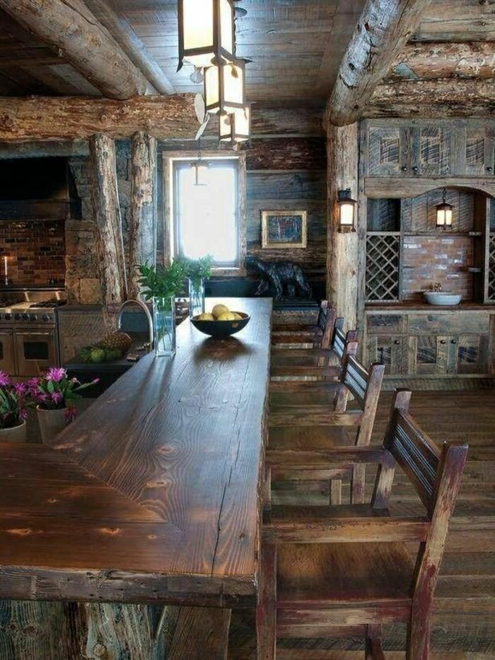 Esstisch Farbe Magnolia : Massive Möbel  der rustikale Look für Ihr Zuhause