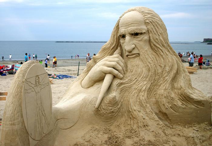moderne-Skulpturen-Leonardo-Da-Vinci