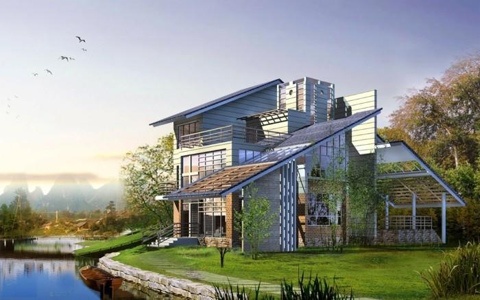 moderne-architektenhäuser-wunderschönes-design-und-schöne-naturumgebung