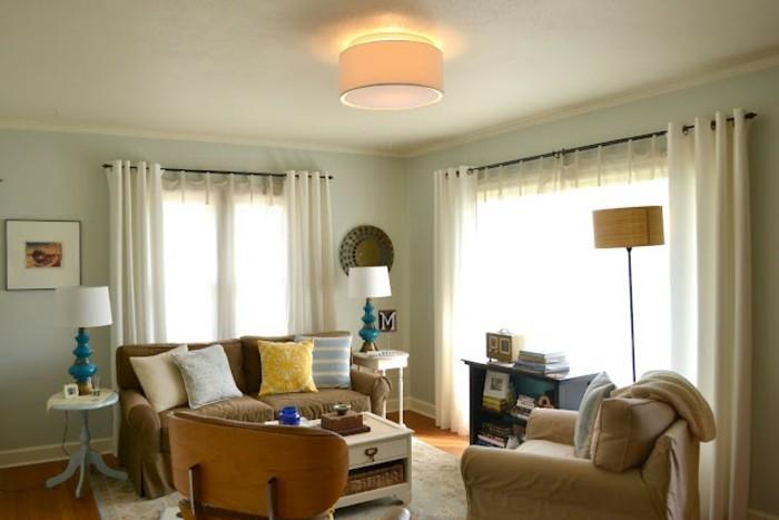 moderne-gestaltung-wohnzimmer-gemütliche-inneneinrichtung