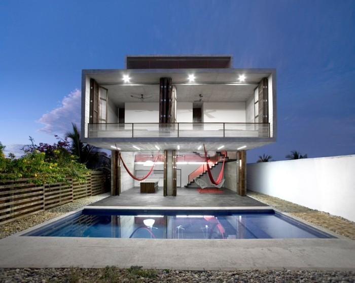 Moderne häuser sehr schöne architektur attraktives design pool