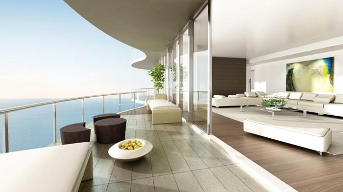 moderne-häuser-weiße-minimalistische-gestaltung
