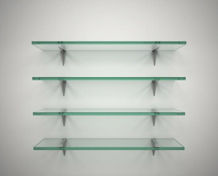 moderne-regale-aus-glas-an-der-weißen-wand-tolle-idee-für-dekoration