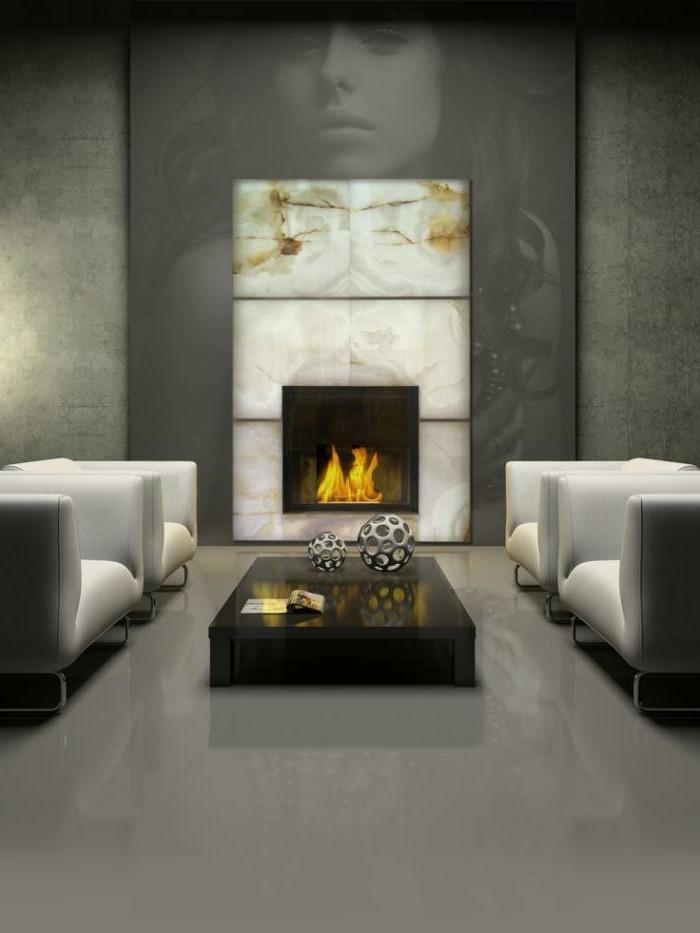 moderner-kamin-einbauen-marmor-glanz-optik