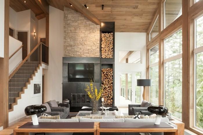 ... Wohnideen Wohnzimmer Grau Weiß Modern landhausstil wohnzimmer modern