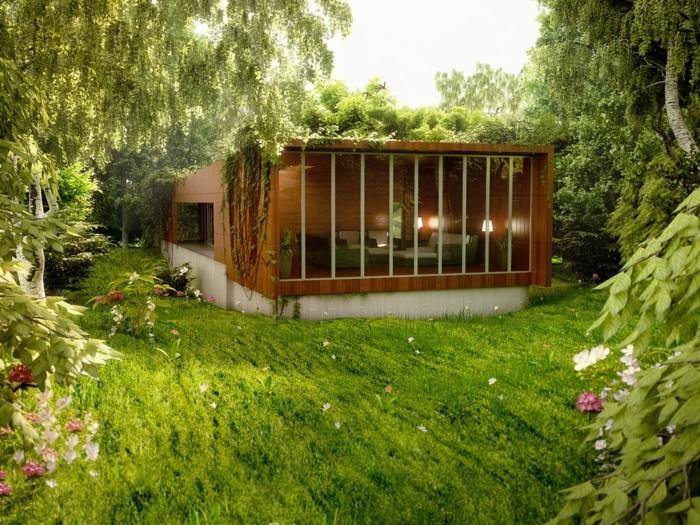 modernes-architektenhaus-sehr-tolles-hölzernes-modell