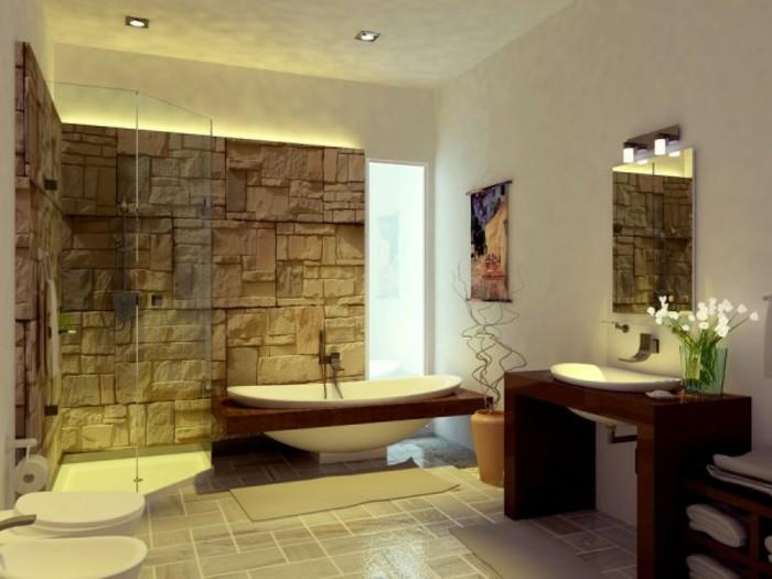 Beleuchtung Idee Badezimmer