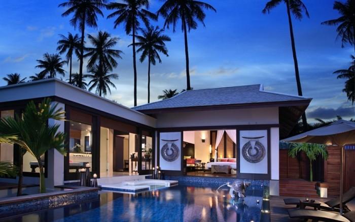 modernes-haus-schöne-palmen-attraktive-naturumgebung