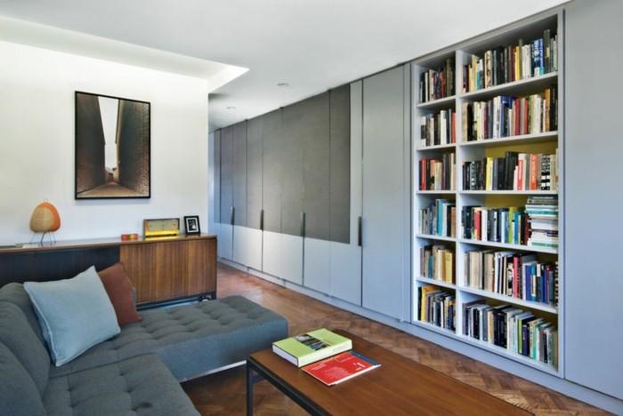 Modernes Wohnzimmer Gestalten Interessante Wohnwand