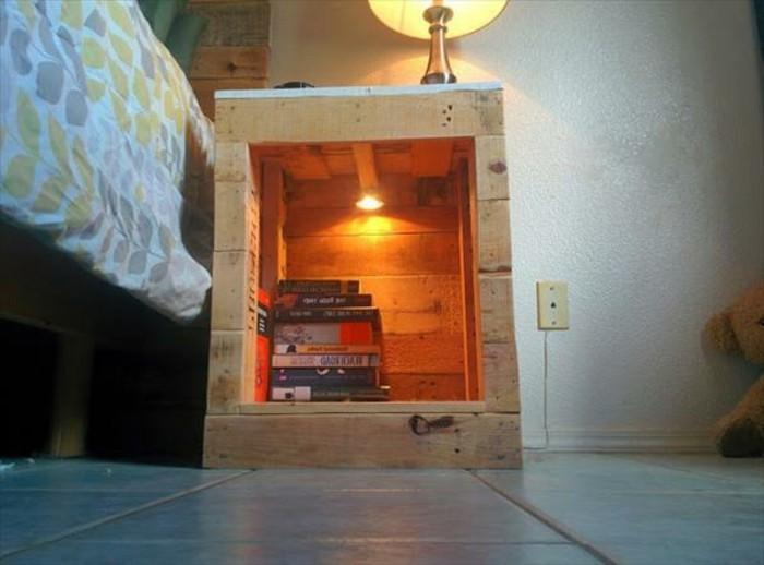 nachttisch-selber-bauen-rustikale-gestaltung-schlafzimmer-modern-ausstatten