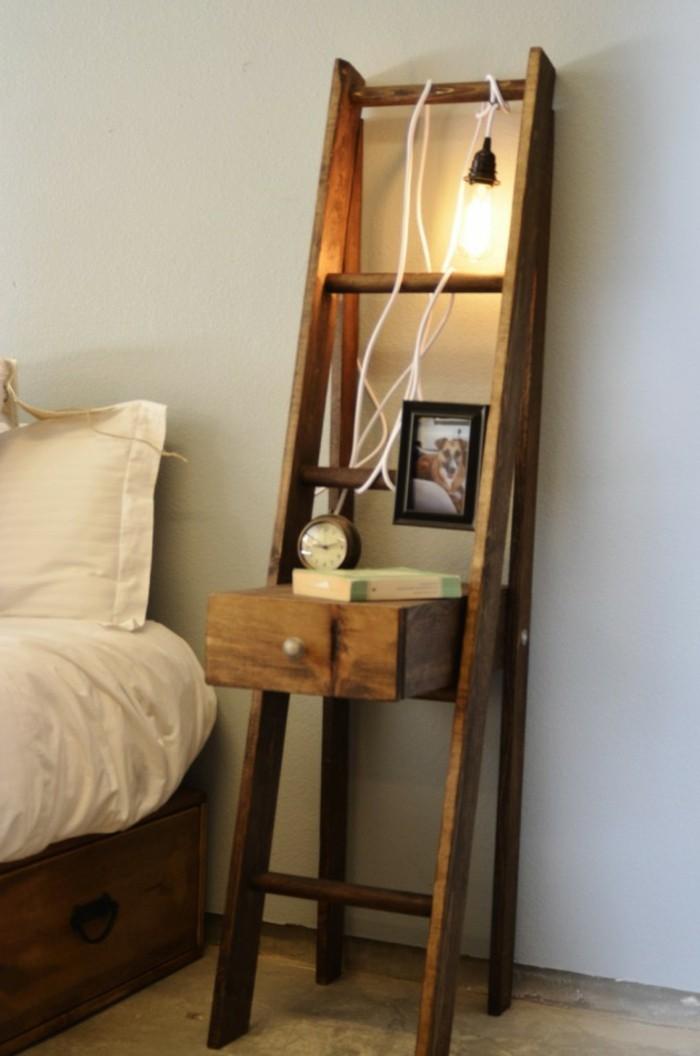 nachttisch selber bauen baueinleitung und fotos. Black Bedroom Furniture Sets. Home Design Ideas