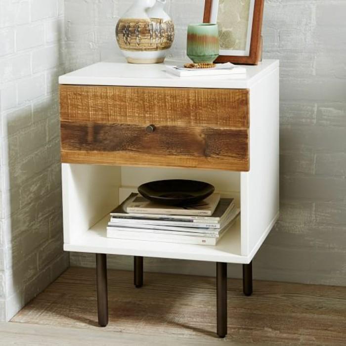 nachttisch selber bauen wohn design. Black Bedroom Furniture Sets. Home Design Ideas