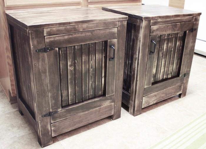 Holz Nachttisch Selbst Bauen ~ wunderschöne schlafzimmermöbel  nachttisch modell  diy design