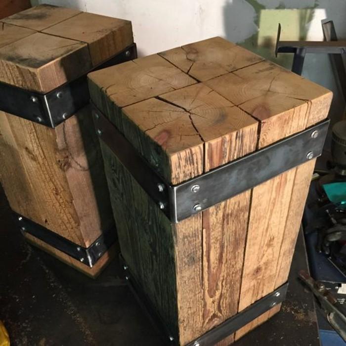 Hervorragend Nachttisch selber bauen: Baueinleitung und Fotos! - Archzine.net LE32