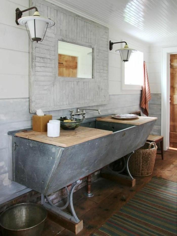 originelle-badezimmer-ideen-interessantes-waschbecken-sehr-rustikale-gestaltung