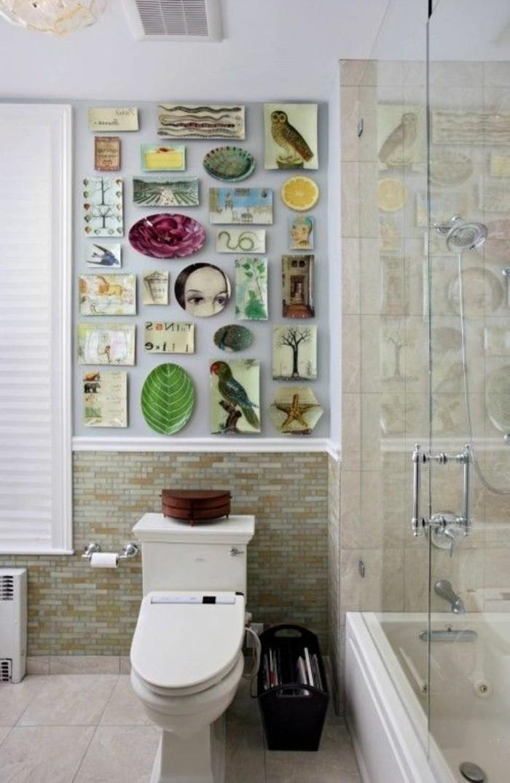 originelle-badideen-sehr-schöne-wandgestaltung