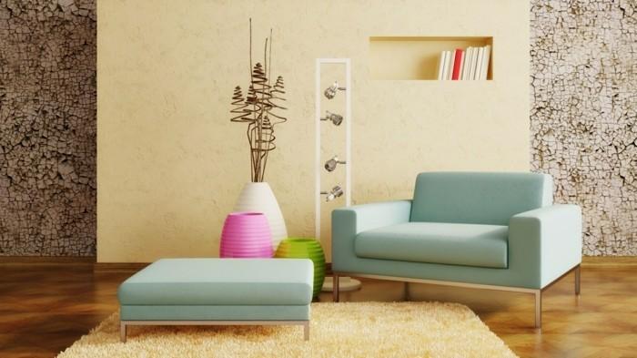 originelles-modell-wohnzimmer-mit-herrlicher-dekoration