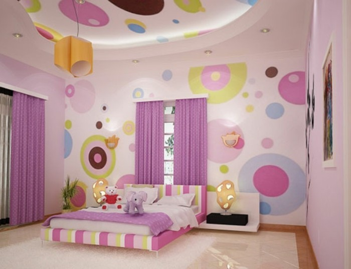 125 Einrichtungsideen Für Ein Schönes Mädchenzimmer! | Kinderzimmer ...