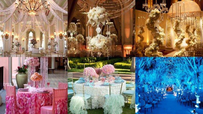 prachtvolle-Hochzeitsdekorationen-in-Aschenputtel-Stil