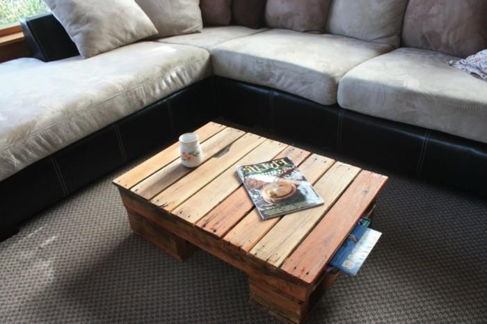 Diese 106 Möbel aus Europaletten werden Ihnen gefallen! -> Quadratisches Sofa