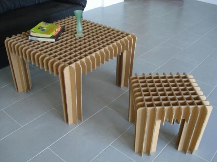 kreatives modell tische - recycling möbel -einmaliges design