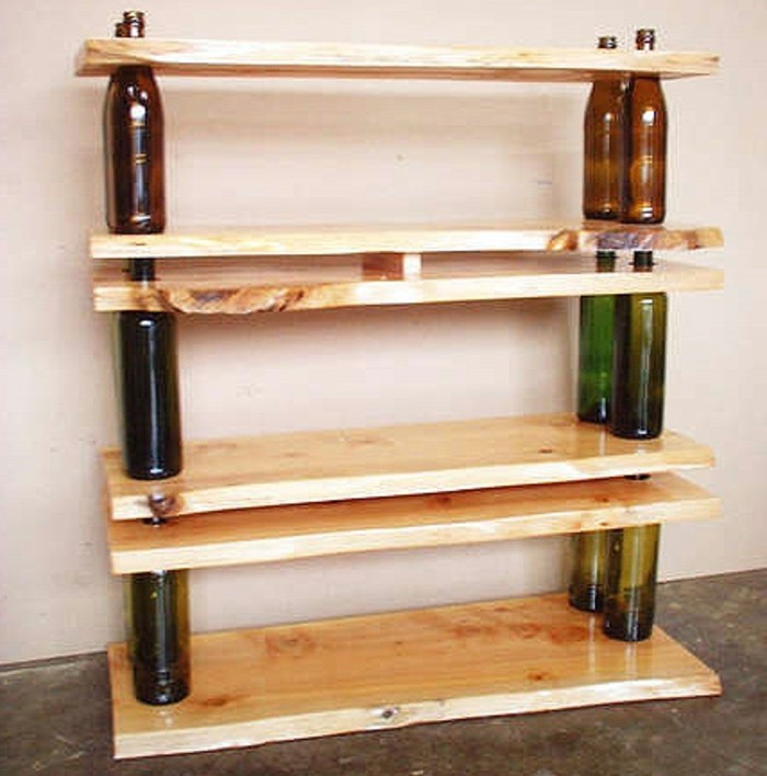 recycling-möbel-originelle-hölzerne-regale