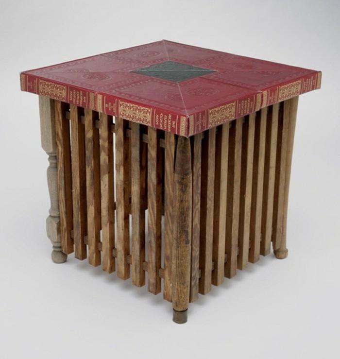 recycling-möbel-sehr-interessanter-beistelltisch