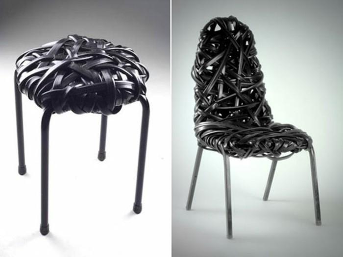 recycling-möbel-zwei-originelle-stühle-aus-leder-gemacht