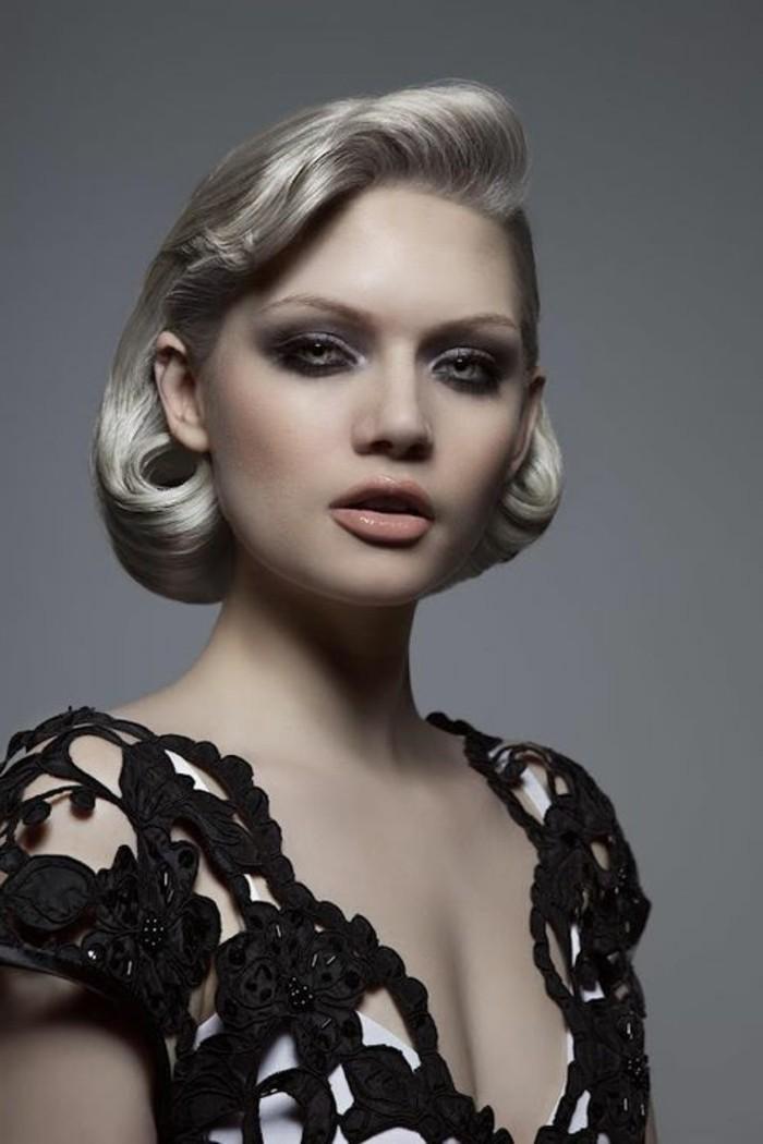 rockabilly-bilder-kurze-schöne-blonde-haare