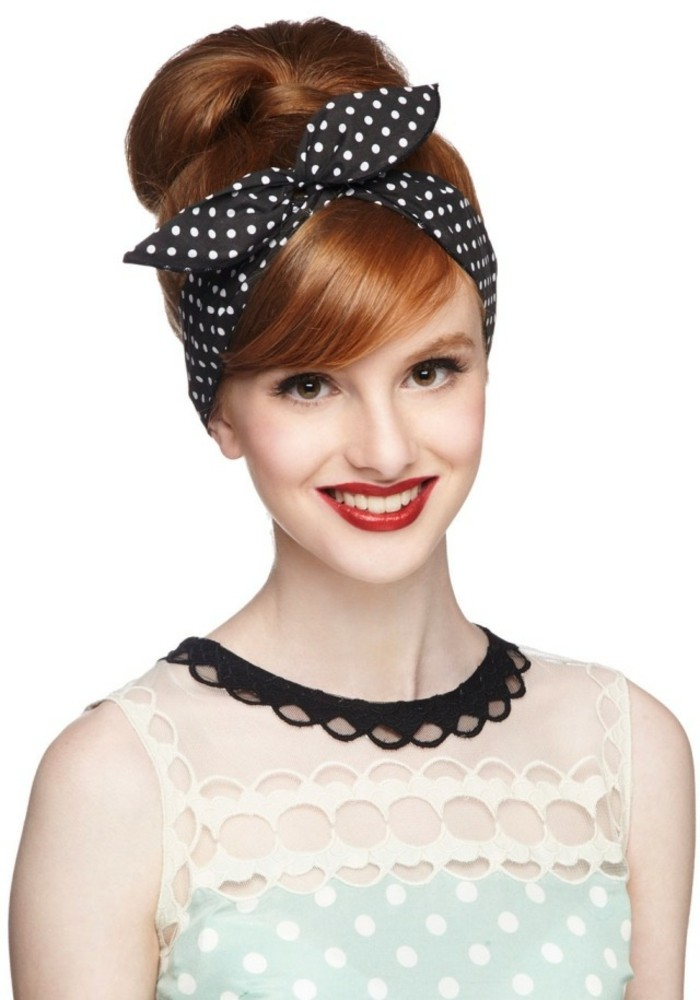 Rockabilly frisuren damen bandana