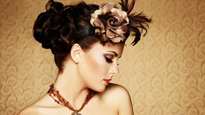 rockabilly-frisuren-extravagante-dekoration-für-die-haare