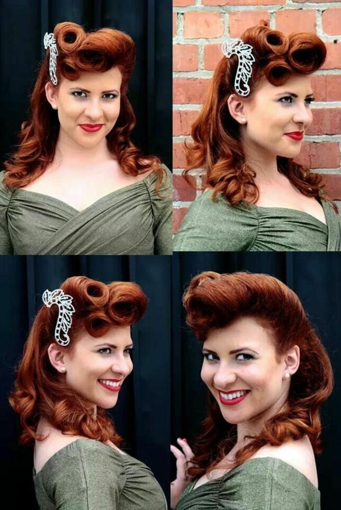 rockabilly-frisuren-vier-kreative-bilder-rötliche-haare
